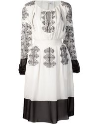 Altuzarra Brigitte Embroidered Dress - Lyst