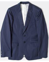 Paul Smith Cotton Poplin Jacket - Lyst