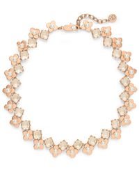 Tory Burch Babylon Jeweled Short Necklace - Lyst