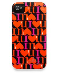 Milly I Love You Print Iphone 4 Case - Lyst