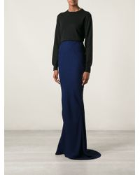 Haider Ackermann Blue Cory Skirt - Lyst