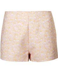 Topshop Womens Kiki Short by Motel  Pink - Lyst