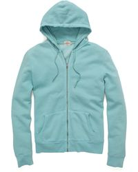 Faherty Brand Rincon Full Zip Hoodie - Lyst