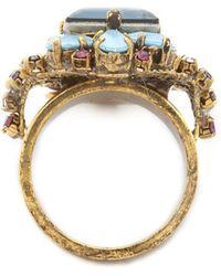 Erickson Beamon - Crystal Statement Ring - Lyst