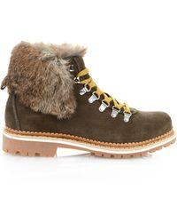 Montelliana   Camelia Fur-trim Après-ski Boots   Lyst