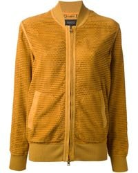 Gucci Perforated Jacket - Lyst
