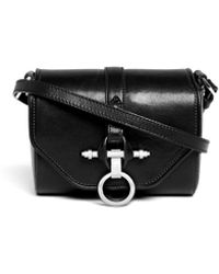 Givenchy 'Obsedia' Leather Crossbody Bag black - Lyst