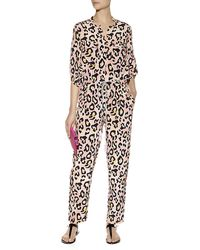 Matthew Williamson Leopard Spot Flightsuit - Lyst