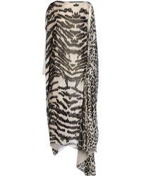 Roberto Cavalli 3/4 Length Dress - Lyst
