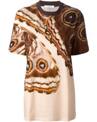Givenchy Butterfly Print T-Shirt - Lyst