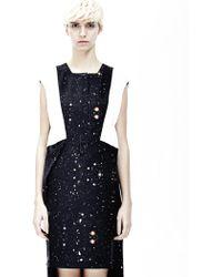 Cres. E Dim Printed Galaxy Pleated Dress - Lyst