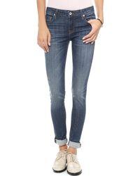 Baldwin Denim The Ten Skinny Jeans - Lyst