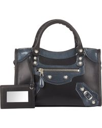 Balenciaga Arena Giant 12 Mini City blue - Lyst
