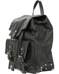 Frye Tracy Leather Backpack - Lyst