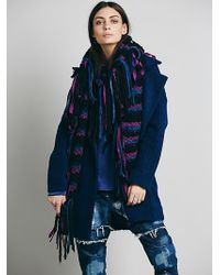 Free People Shaggy Convertible Wrap - Lyst