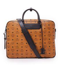 MCM - Nomad 2 Zip Briefcase - Lyst