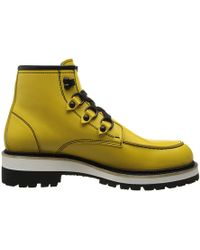 DSquared2 Runway Construction Ankle Boot - Lyst