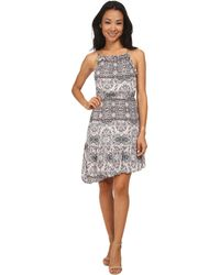 BCBGeneration Ruffled Dress - Lyst