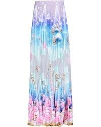 Manish Arora Long Skirt green - Lyst