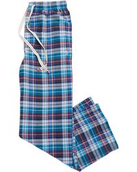 Original Penguin Plaid Sleep Pants - Lyst