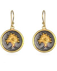 Satya Jewelry - 'tree Of Life' Drop Earrings - Lyst