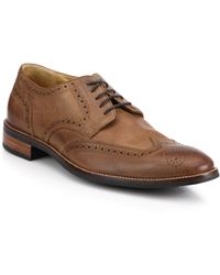 Cole Haan Lenox Hill Wingtip Derby Shoes - Lyst