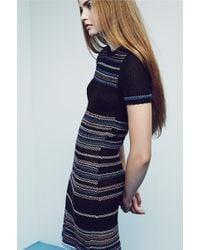 Yakshi Malhotra - Woven Fringe Dress - Lyst