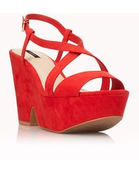 Forever 21 - Darling Wedge Sandals - Lyst