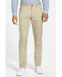 Theory 'Haydin Writer' Straight Leg Pants - Lyst