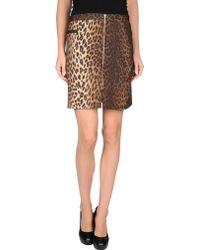 Moschino Cheap & Chic Mini Skirt - Lyst