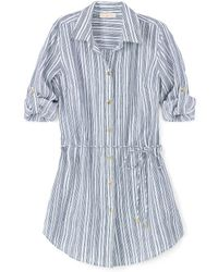 Tory Burch Luna Beach Shirt - Lyst