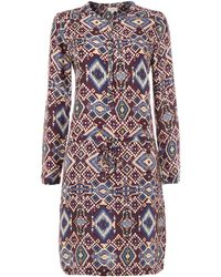 Linea Weekend Chelly Print Dress - Lyst