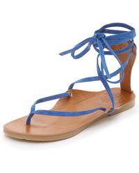 Charlotte Stone - Ogden Gladiator Sandals - Lyst