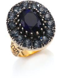 Alexander McQueen | Crystal Statement Ring | Lyst