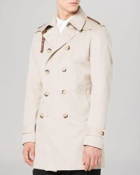 Sandro Man Magnetic Coat - Lyst