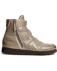 Helmut Lang High Top Zip Sneaker - Lyst