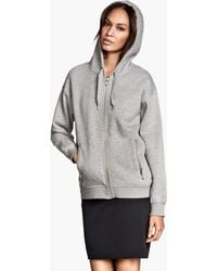 H&M G Hooded Jacket - Lyst