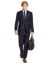 Polo Ralph Lauren Polo I Navy Flannel Suit - Lyst