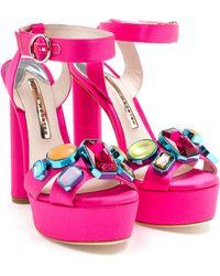 Sophia Webster Amanda Platform Sandals - Lyst