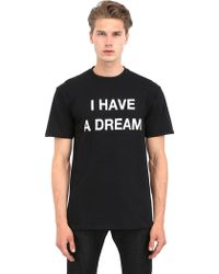 Luisa Via Roma I Have A Dream Printed Cotton T-Shirt - Lyst