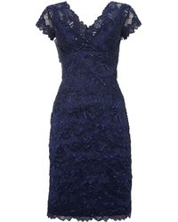 Shubette Lace Tiered Beaded Dress - Lyst