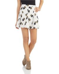 Free People Good Day Sunshine Skirt - Lyst