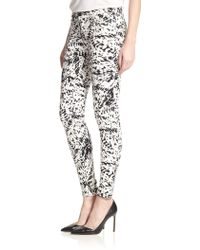 J Brand Photo Ready Printed Super Skinny Jeans - Lyst