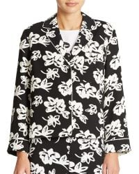 424 Fifth - Floral Jacket - Lyst