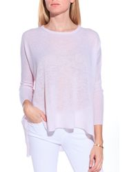 Subtle Luxury Crew Neck Sweater - Lyst
