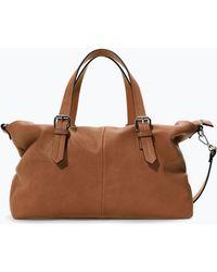 Zara Trf Shopper Bag - Lyst