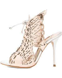 Sophia Webster Cherub Leather Heels - Lyst
