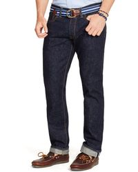 Polo Ralph Lauren Slim Straight Selvedge Jean - Lyst