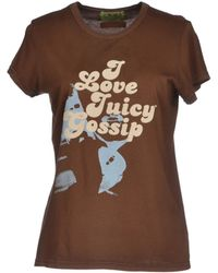 Juicy Couture T-shirt - Lyst