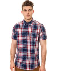 Wesc The Glen Ss Buttondown Shirt - Lyst